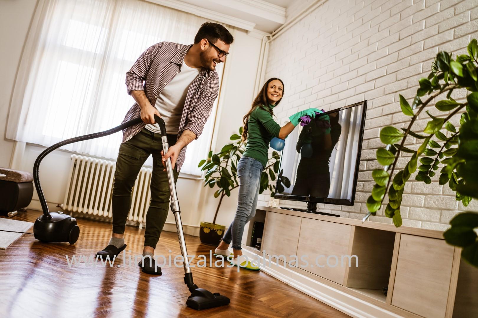 Ahorro de energía al limpiar